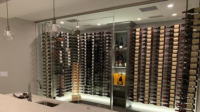 Wine Room Glass Enclosures - DSI Glass Aurora