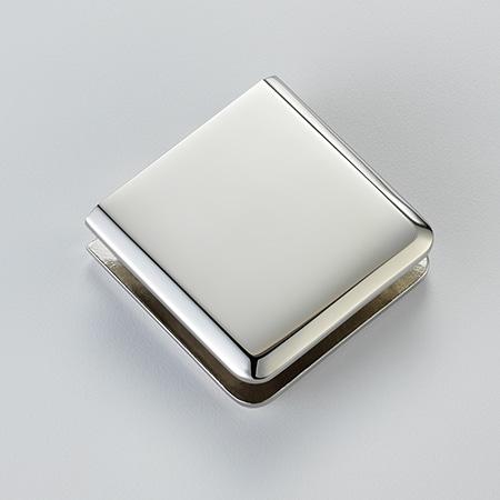 Frameless Swing Door Finish - Polished Nickel - DSI Glass Aurora